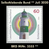 FRG MiNo. 3555 ** Self-Adhesives Germany July 2020, MNH