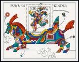 FRG MiNo. Block 35 (1853) ** For us children 1996, MNH