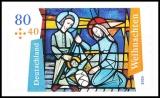 FRG MiNo. 3574 ** Christmas 2020 series: church window, MNH, self-adhesive