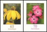 FRG MiNo. 2715-2716 set ** Flowers, MNH, self-adhesive