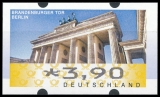 FRG MiNr. ATM 6 set 45-390 Euro cent ** Frama labels: Brandenburg Gate, MNH
