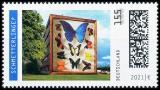 FRG MiNo. 3630 ** Series Optical Illusions: Butterflies?, MNH