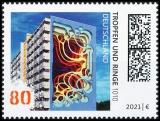 FRG MiNo. 3633 ** Street Art Series: 1010 - Drops and Rings, MNH