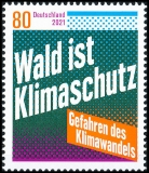 FRG MiNo. 3634 ** Dangers of climate change / Forest is climate protection, MNH