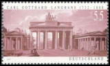 FRG MiNo. 2634 ** 275. birthday of Carl Gotthard Langhans, MNH