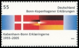 FRG MiNo. 2449 ** 50 years of Bonn-Copenhagen Declarations, MNH