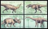 FRG MiNo. 2687-2690 set ** Youth 2008: Dinosaur, from sheetlet 73, MNH