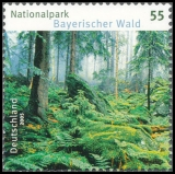 FRG MiNo. 2452 ** German parks: Bavarian Forest Nature Park, MNH