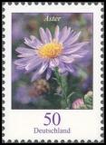 FRG MiNo. 2462-2463 set ** Flowers (III): mallow and Aster, MNH