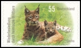FRG MiNo. 2921-2922 set ** Recolonization by native wildlife, MNH, self-adhesive