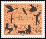 FRG MiNo. 2453 ** 200th birthday of Hans Christian Andersen, MNH