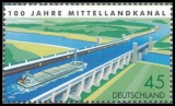 FRG MiNo. 2454 ** 100 years Mittellandkanal, MNH