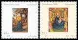 FRG MiNo. 2492-2493 set ** Christmas 2005, MNH