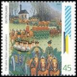 FRG MiNo. 2494 ** Customs & tradition: 150 years Tölzer Leonhardifahrt, MNH