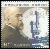FRG MiNo. 2496 ** 100th anniversary awarding Nobel Prize to Robert Koch, MNH