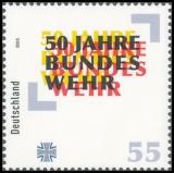 FRG MiNo. 2497 ** 50 years Bundeswehr, MNH