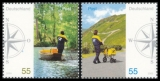 FRG MiNo. 2481-2482 set ** Post: mail delivery in Germany, MNH