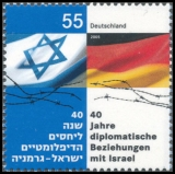 FRG MiNo. 2498 ** 40 years of diplomatic relations with Israel, MNH