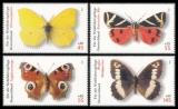 FRG MiNo. 2500-2503 set ** Welfare 2005: Native Butterflies, MNH