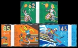 FRG MiNo. 3149-3151 set ** Sports Help 2015: Disabled sports, MNH