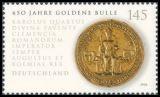 FRG MiNo. 2511 ** 650 years Golden Bulle, MNH