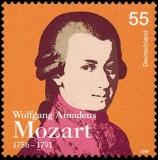 FRG MiNo. 2512 ** 250th anniversary of Wolgang Amadeus Mozart, MNH