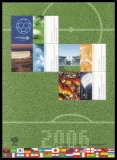 FRG MiNo. Block 67 (2517-2519+2521) ** Sports Aid 2006, Miniature sheet, MNH