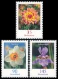 FRG MiNo. 2505-2507 set ** Flowers (VIII), MNH