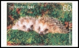 FRG MiNo. 3053-3054 set ** Baby Animals Fox Hedgehog, MNH, self-adhesive