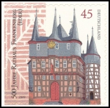 FRG MiNo. 2718 ** 500 years City Hall of Frankenberg, MNH, self adhesive