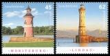 FRG MiNo. 3156-3157 set ** Lighthouses, MNH