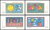 FRG MiNo. 2665-2668 set ** Greeting Stamps, MNH, self-adhesive
