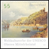 FRG MiNo. 2537 ** World Heritage Rhine Valley, MNH, self-adhesive, from set