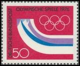 FRG MiNo. 875 ** Winter Olympics 1976, Innsbruck, MNH