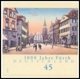 FRG MiNo. 2584 ** 1000 Years Fuerth, MNH, self-adhesive