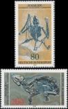 FRG MiNo. 974-975 set ** Fossiles, MNH