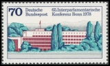 FRG MiNo. 976 ** Interparliamentary Conference, MNH