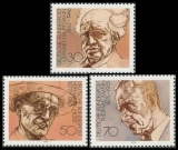 FRG MiNo. 959-961 set ** German literature Nobel Prize winners, MNH