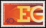 FRG MiNo. 880 ** 25 years European Coal and Steel Community (ECSC), MNH