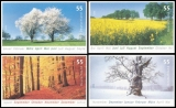 FRG MiNo. 2574-2577 set ** Seasons, MNH, self-adhesive, from set