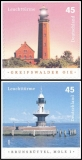 FRG MiNo. 2478-2479 set ** Lighthouses, MNH, self-adhesive, from stamp set