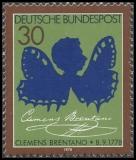 FRG MiNo. 978 ** 200th anniversary of Clemens Brentano, MNH