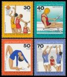 FRG MiNo. 882-885 set ** Youth: Youth training for the Olympics, MNH