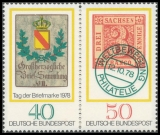 FRG MiNo. 980-981 ** Stamp Day, MNH
