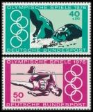 FRG MiNo. 886-887 set ** Summer Olympics 1976, Montreal, MNH