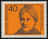 FRG MiNo. 792 ** Significant German women (I): Womens rights activist Lange, MNH