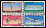FRG MiNo. 964-967 set ** Youth 1978: Aviation, MNH