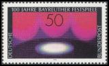 FRG MiNo. 896 ** Centenary of Bayreuth Festival, MNH