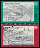FRG MiNo. 934-935 set, C.E.P.T.- Landscapes, postmarked