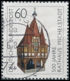 FRG MiNo. 1200 O 500th Anniv. Of Michelstadt Town Hall, postmarked
